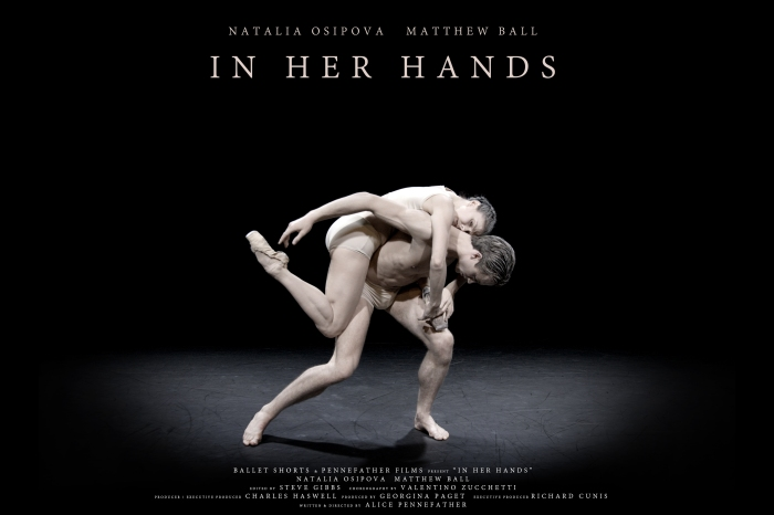 IN HER HANDS POSTER
