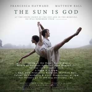 The Sun is God Poster E-FLYER